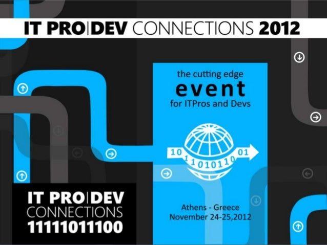 Parallel and Asynchronous Programming -  ITProDevConnections 2012 (Greek)