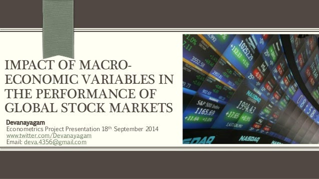 What are some other macroeconomic variables?