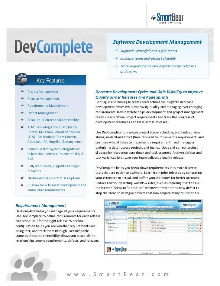 DevComplete Datasheet