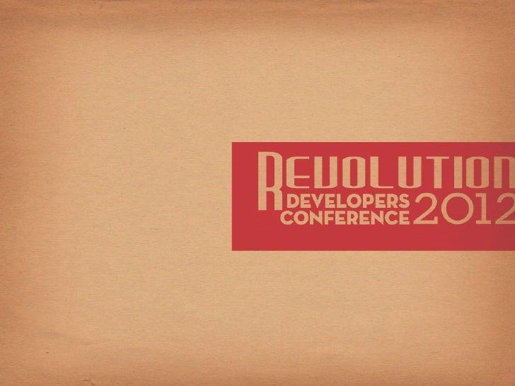 Blackboard DevCon 2012 Keynote presentation