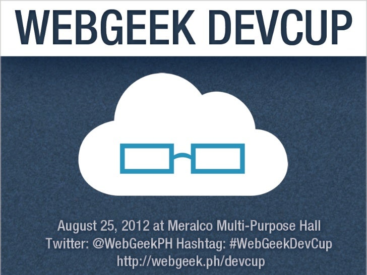 WebGeek DevCup Theme