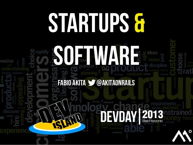 Startups & Software - DevDay BH 2013
