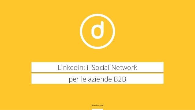Linkedin e aziende B2B