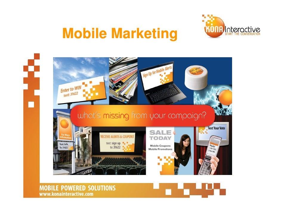 Develop A Mobile Marketing Strategy