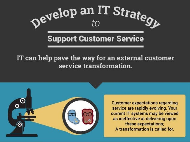 Develop an IT Strategy to Support Customer Service