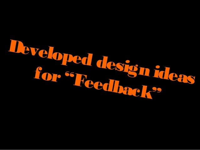 Developed design ideas 002