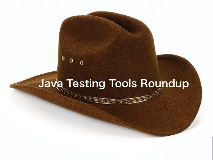 Developer Testing Tools Roundup
