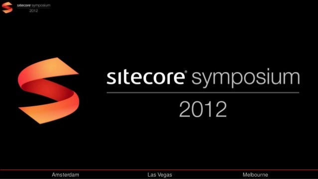 Sitecore Symposium: DMS Where is the data at?