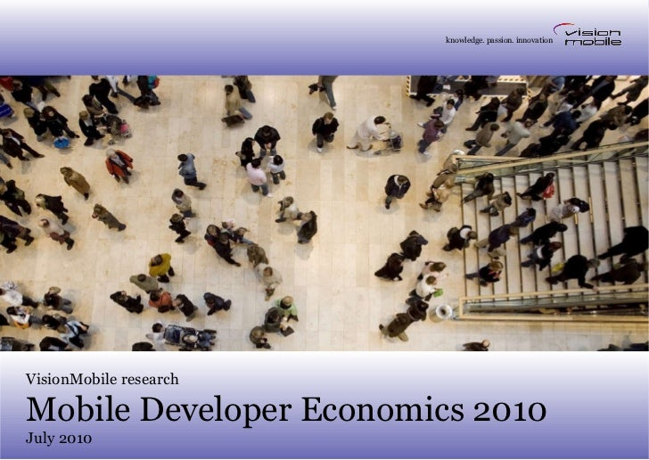 Developer Economics 2010