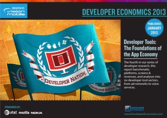 Developer economics 2013 (VisionMobile, Михаил Вакуленко) III Форум Apps4All