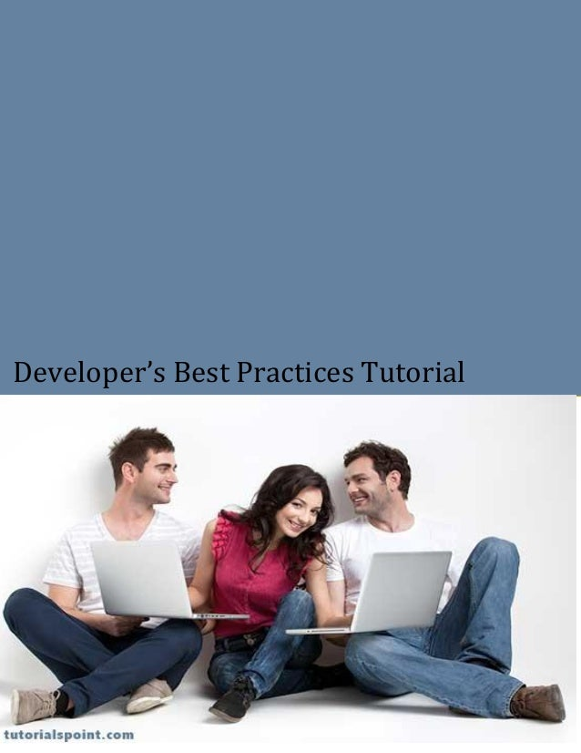Developer's Best Practices Tutorial