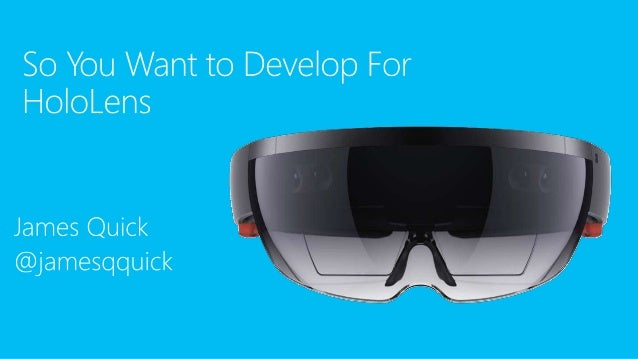 how to develop apps for hololens