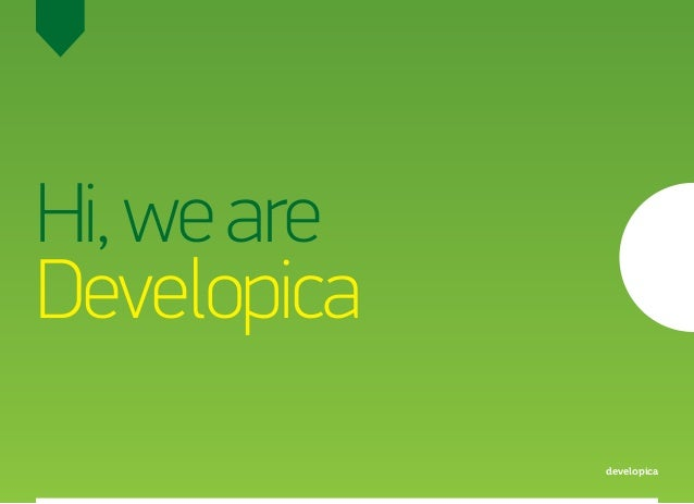 Hi,weare Developica developica