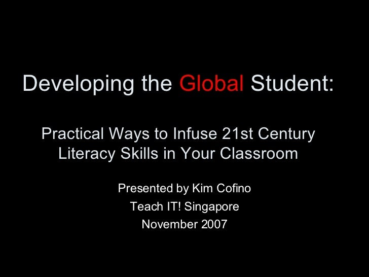Developing the Global Student V2