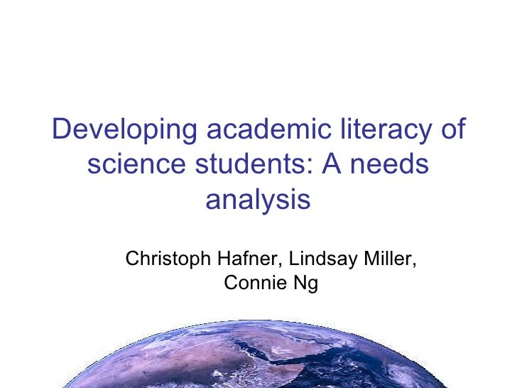 CityU: Developing Academic Literacy Of Science Students