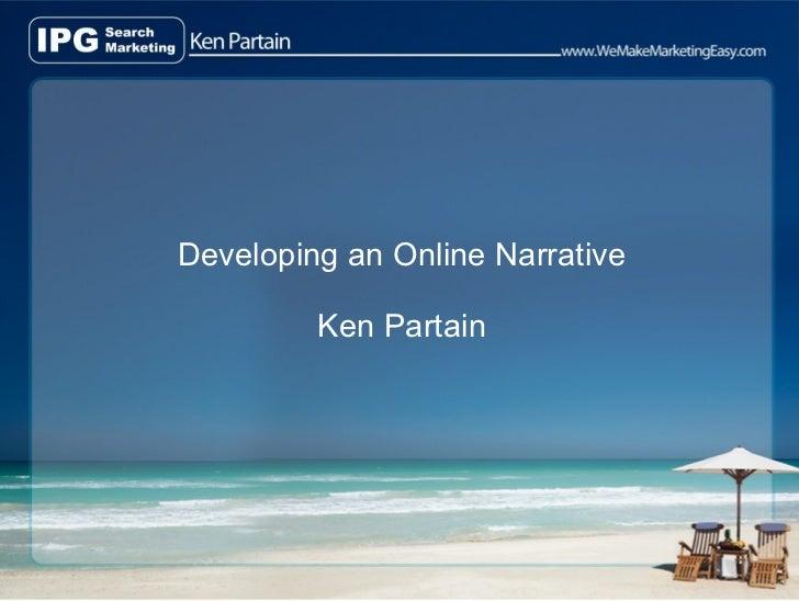 Developing An Online Narrative