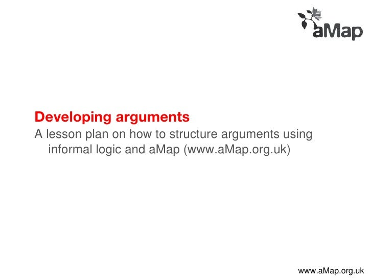 Developing arguments - critical thinking teacher's pack