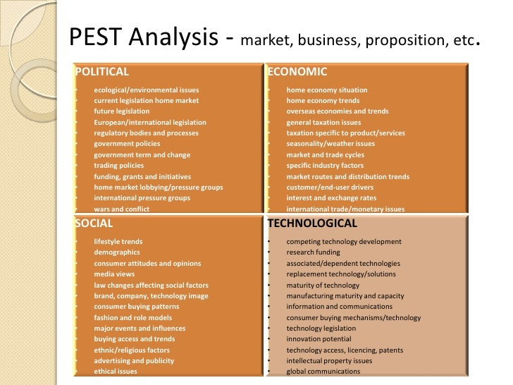 pestle analysis freight forwarder