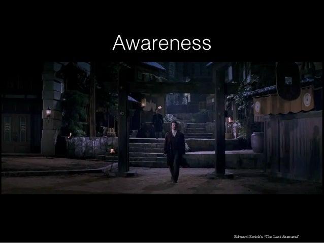 """Awareness            Edward Zwick's """"The Last Samurai"""""""