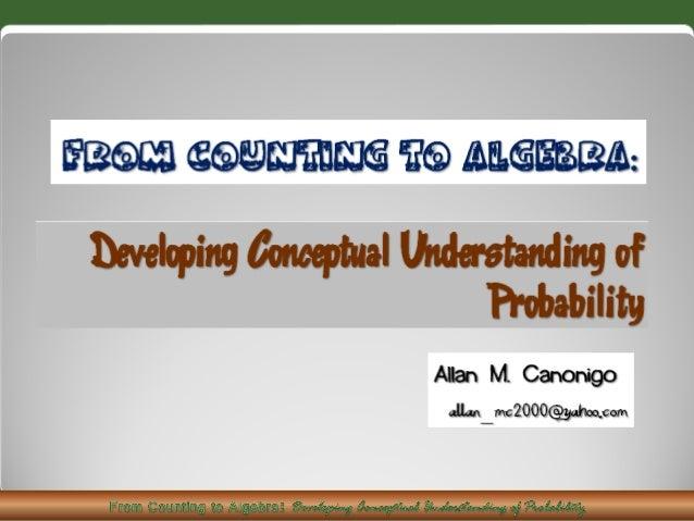 Conceptual Understanding Activities and Problems Solving that  Promote Conceptual Understanding Significance of Teachi...