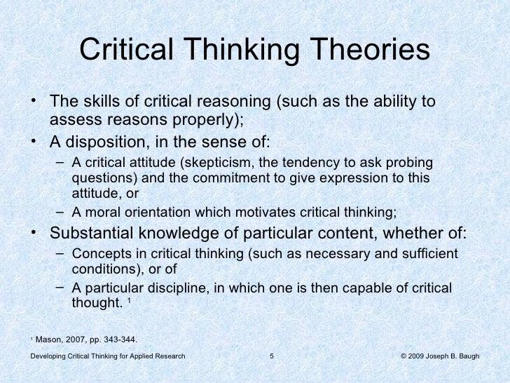 critical thinking essays