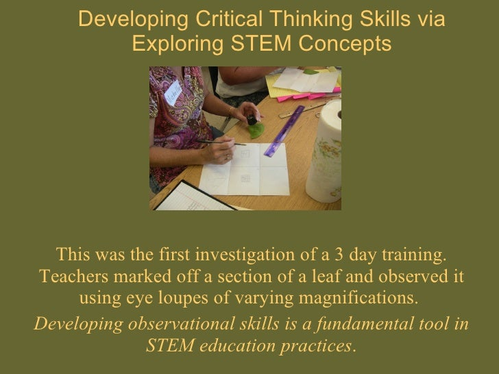 critical thinking skills in elementary education Scheffer and rubenfeld discuss critical thinking habits and critical thinking skills for each of the critical thinking skills of nursing education.