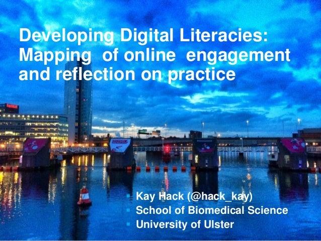 Promoting Residency in Learning & Teaching  Kay Hack (@hack_kay)  School of Biomedical Science  University of Ulster D...