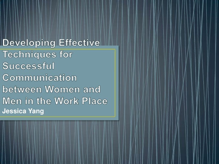 Developing effective techniques for successful communication between women