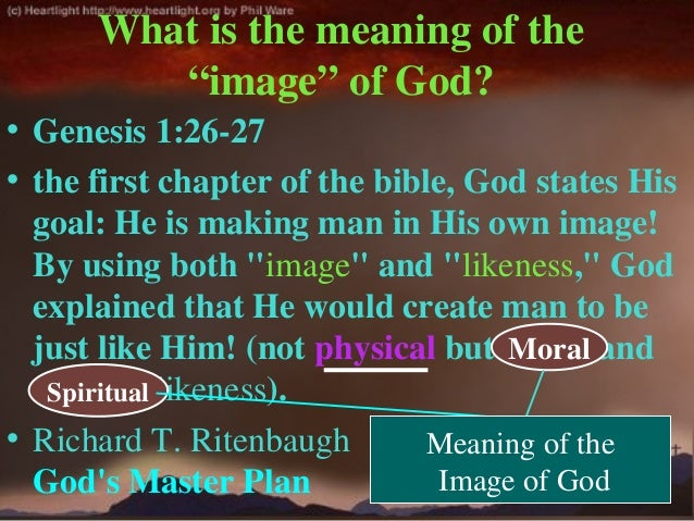 Developing God S Image In Our Young People Today