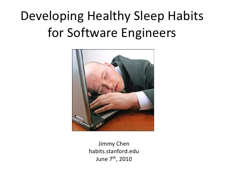 Developing Healthy Sleep Habits for Software Engineers