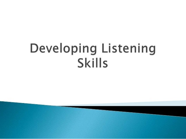 Lukong N. Nicholas (1988) claims that theexercise most widely used by those who tryto teach listening comprehension involv...