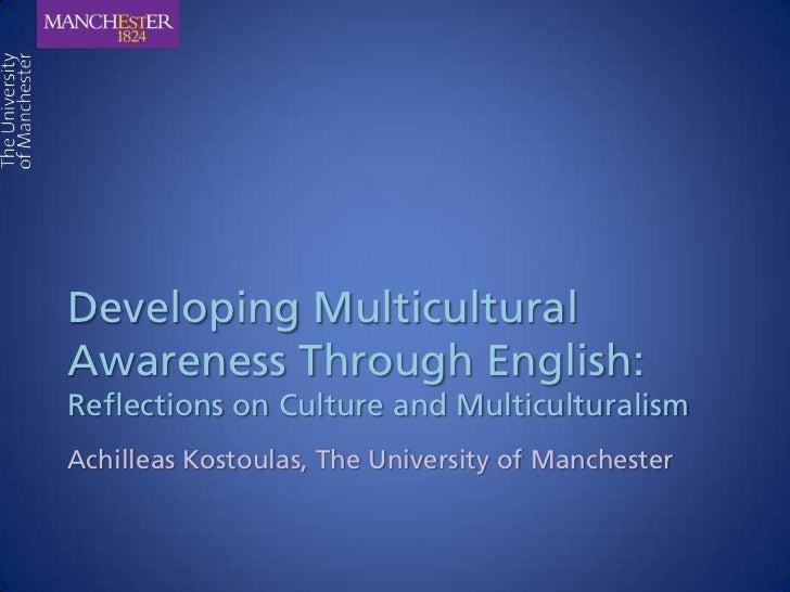 Developing Multicultural Awareness Through English (slideshare)