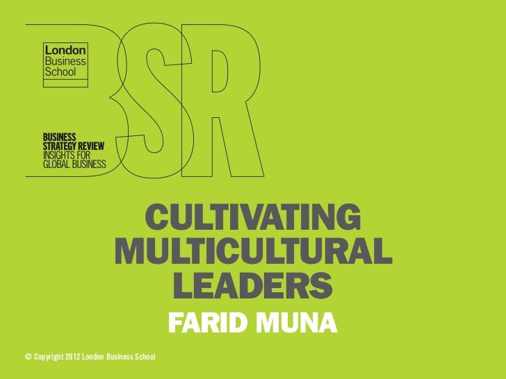 CULTIVATING                          MULTICULTURAL                            LEADERS                                     ...
