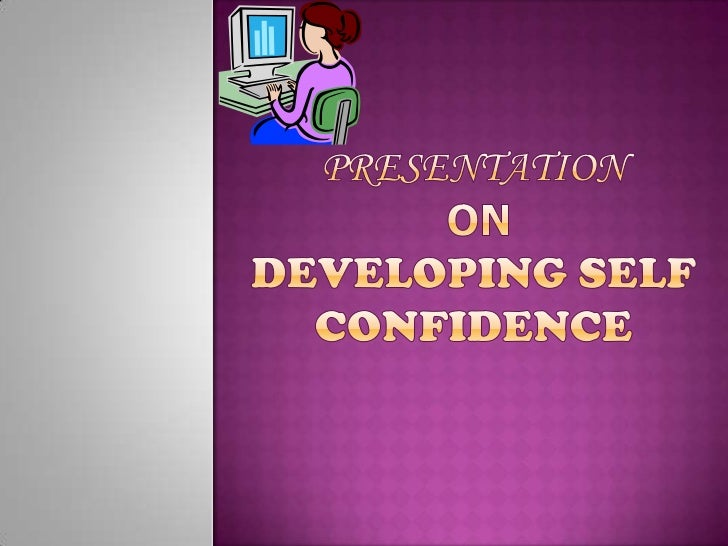Self-confidence definition essay