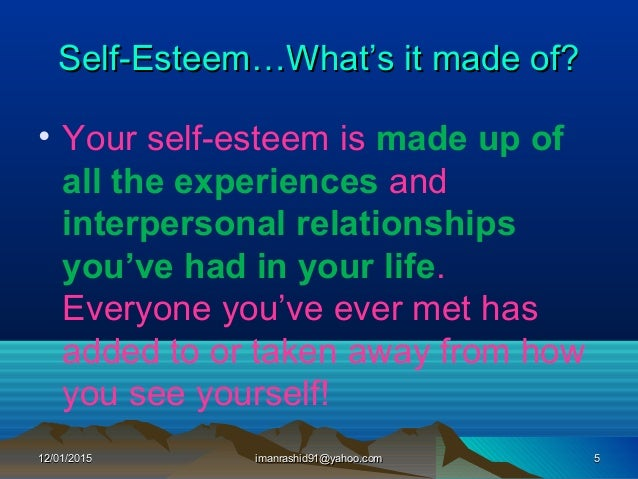 developing self Strong self-esteem is a child's armor against the challenges of the world here's how to boost healthy self-esteem in your kids.