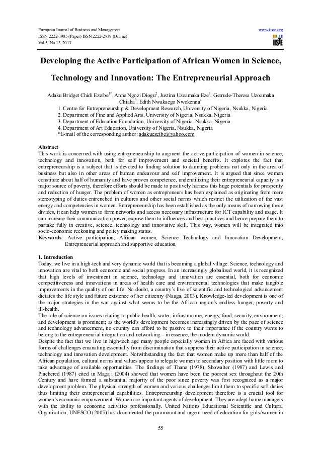European Journal of Business and Management www.iiste.orgISSN 2222-1905 (Paper) ISSN 2222-2839 (Online)Vol.5, No.13, 20135...