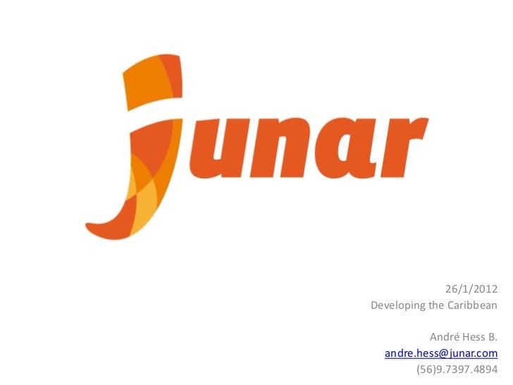 Junar: an Open Data Platform