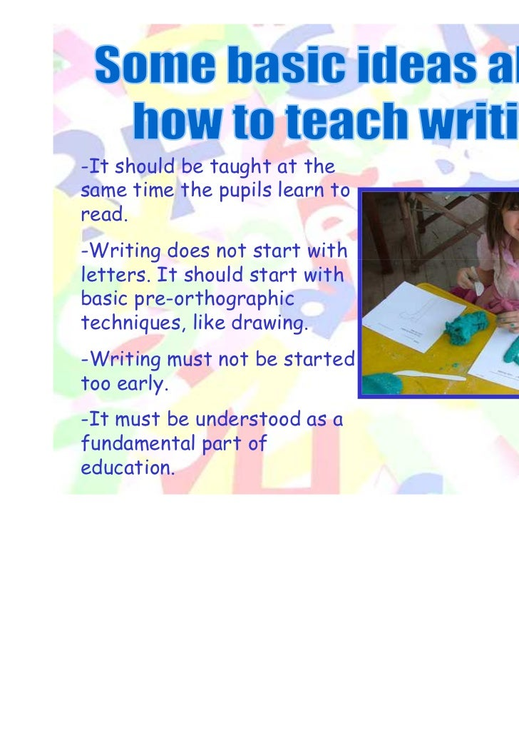 Developing writing skills