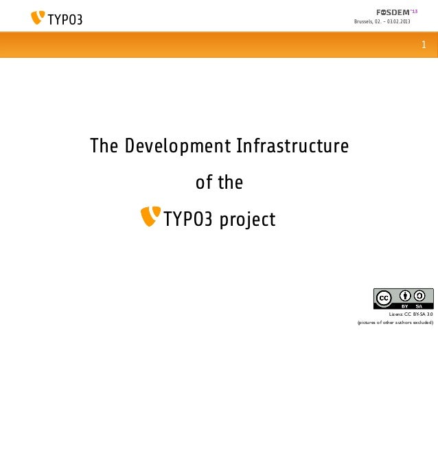 The Development Infrastructure of the TYPO3 Project