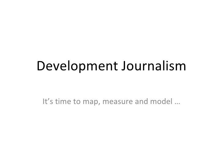 Development Journalism Talk At Uplb
