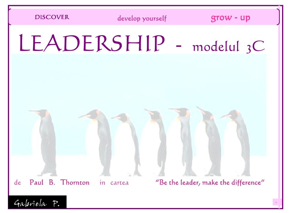 DISCOVER               develop yourself              grow - up   LEADERSHIP -                                         mode...