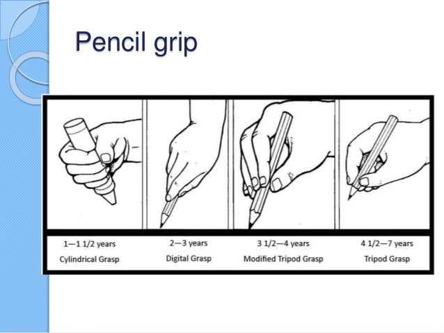 Pincer Grasp Writing Pincer Grasp Pencil Pencil