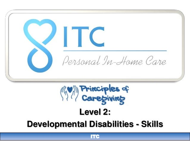Level 2:Developmental Disabilities - Skills                ITC