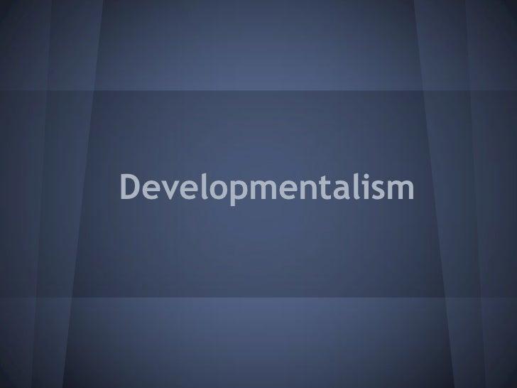 Developmentalism