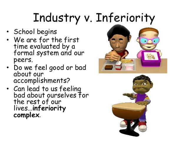 Erik erikson industry vs inferiority essay