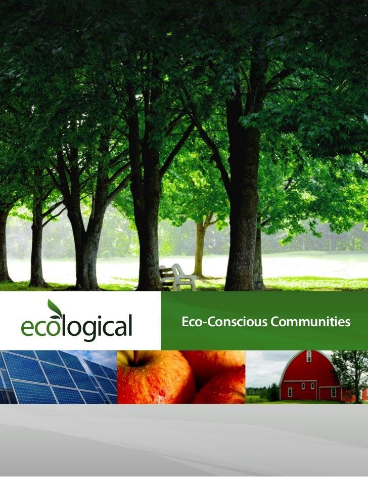Eco-Conscious Communities