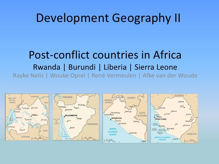 Development Geography II