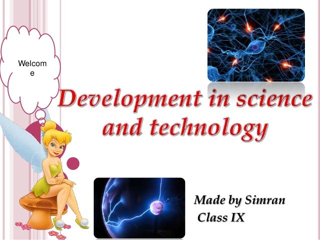 Development of Science And Technology Development in Science And