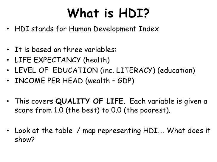 Human development (economics) - Wikipedia