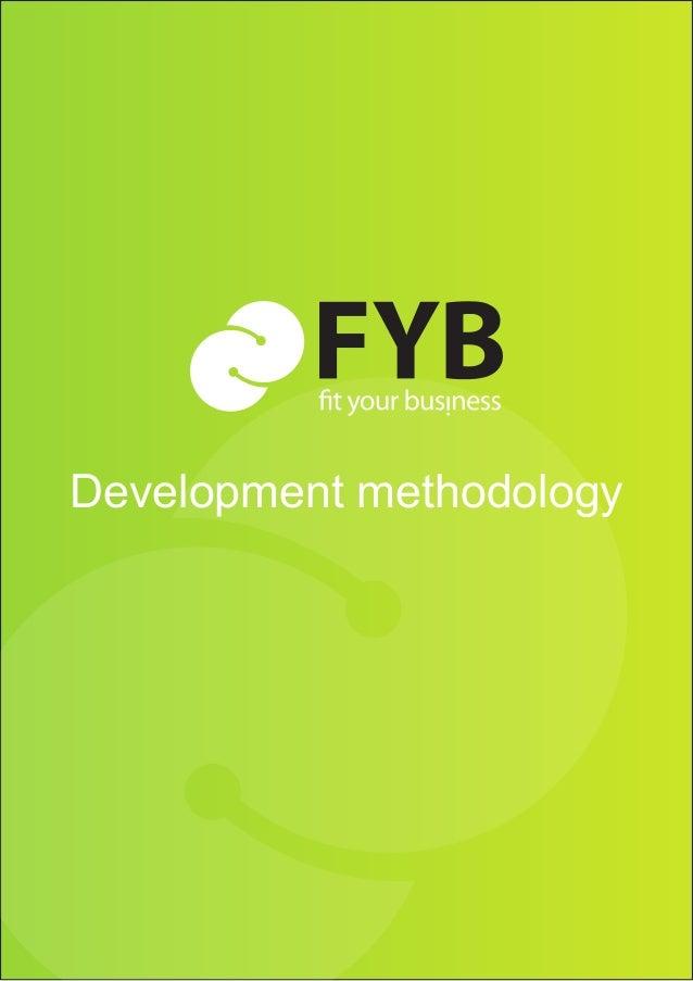 Development methodology | page    Development methodology